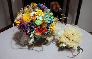 Bouquet de casamento é um dos itens mais procurados. Ele pode ser totalmente personalizado de acordo com a vontade do cliente
