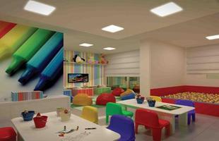 Espaço para as crianças deve estimular a criatividade e a diversão