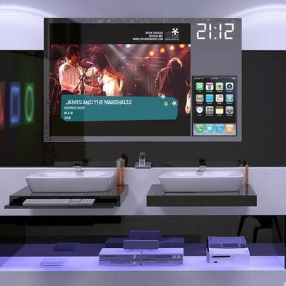 Todas as funções do banheiro Hi-Tech Digital são controladas por controle remoto