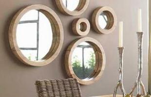 Jogos de espelhos podem ter várias funções, basta colocá-los em posições estratégicas
