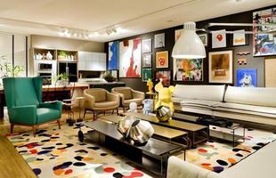 Toda alegria e descontração no Loft 54 das designers de Interiores Fatima Mesquita, Márcia Albieri e Regina Amaral