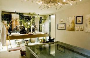 Design Banho do Casal elaborado pelas arquitetas Andressa Lima e Daniela Cardim