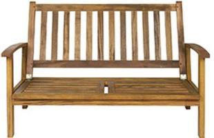 Sofá: Seguindo a mesma proposta das poltronas da linha, o sofá Leblon oferece sistema reclinável com até duas posições. Pode ser utilizado tanto com almofada, em áreas internas como sacadas e varandas cobertas, ou sem, tanto no jardim como ao redor da piscina.