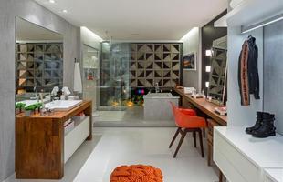 Quarto de Vestir e Banheiro da Esposa/Raíssa Fonseca e Fabíola Araujo