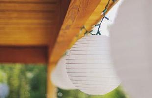 Lanternas Japonesas na decoração ocidental