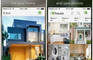 Houzz: um infinito banco de dados com mais de 900 mil fotos em alta resolução de ambientes e produtos de decoração. Com o aplicativo você acessa imagens de ambientes e pode selecionar o produto que gostou e conferir onde encontrá-lo para compra. Ainda é possível encontrar profissionais para o seu projeto e visualizar classificações e críticas. Compatível com Android e IPhone.