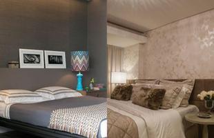 Você pode investir em estampas elegantes, com arabescos e texturas discretas