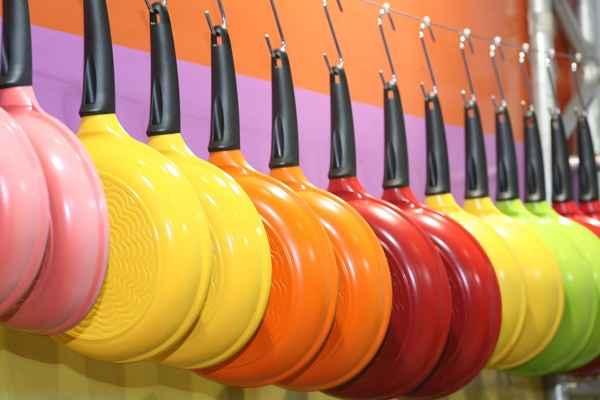Hoje em dia os utensílios de cozinha tornaram-se peças de decoração (Reprodução/Internet)