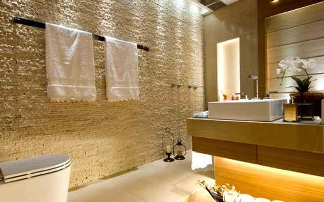O Azulejista 010214  010314 -> Banheiro Decorado Pedras
