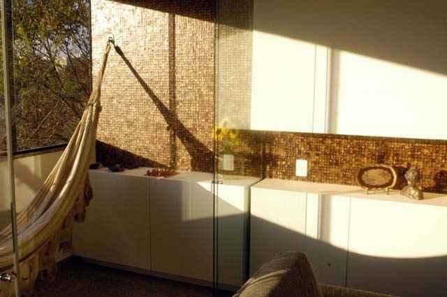 Principal área de interação e convívio social, as varandas contam com revestimentos de fácil manutenção - Paulo de Araujo/CB/D.A Press