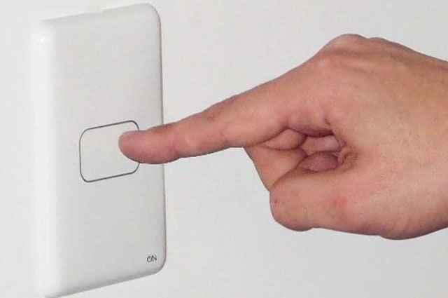 O sistema depende de um único toque para acender ou apagar a luz - Divulgação/On Eletrônicos