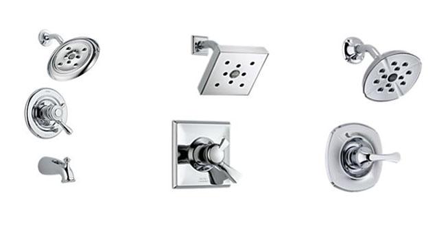 Sistema interno controla a velocidade, o movimento e o tamanho das gotas de água, criando a sensação de um fluxo mais intenso - Divulgação/Delta Faucet