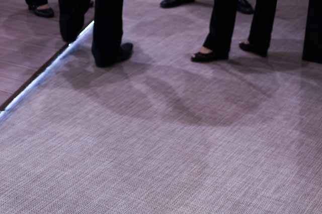 Carpetes ganham versão eco reciclável e antibacteriana, ideal para locais de grande circulação, como apartamentos, navios, hospitais e prédios comerciais - Divulgação/Pertech