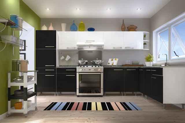 Modelos de módulos de aço para cozinha oferecem maior durabilidade, valorizando espaços com conforto e praticidade para acomodar utensílios - Divulgação/Bertolini