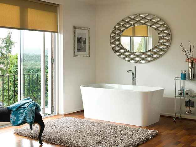 Não importa se a pessoa vive num loft ou cobertura, num apartamento amplo ou com medidas pequenas, é possível encontrar a banheira certa para cada projeto - Divulgação/Doka
