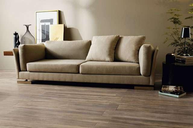 A Ecollection inova na textura e cria uma nova experiência sensorial para o designer de interiores e exteriores com aparência em madeira - Portobello/Divulgação