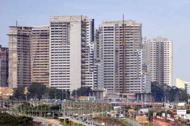 Apenas um dos três componentes do IGP-M teve elevação acima da média: o Índice Nacional de Custo da Construção (INCC) com aumento de 8,39% - Ronaldo de Oliveira/CB/D.A Press
