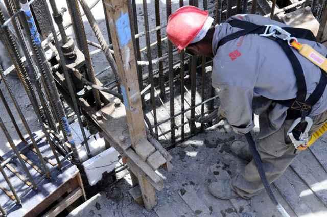 No estado de São Paulo a construção civil teve, em janeiro, uma situação de quase estabilidade nos valores gastos com o andamento das obras - Daniel Ferreira/CB/D.A Press