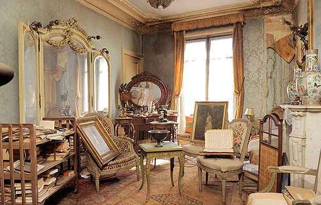 O imóvel de 140 m² pertencente a uma famosa atriz e socialite parisiense, Madame de Florian, que fugiu das tropas de Adolf Hitler na 2ª Guerra Mundial - Corbis/Divulgação