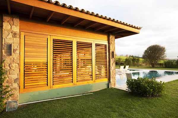 Versáteis, as esquadrias podem compor diversos projetos arquitetônicos, já que além da funcionalidade, tornam os ambientes mais aconchegantes  - Divulgação/Mado