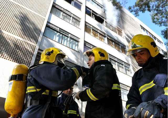 Os equipamentos de segurança dos prédios devem ser vistoriados pelo Corpo de Bombeiros para evitar riscos de incêndios e danos à infraestrutura  - Gustavo Moreno/CB/D.A Press