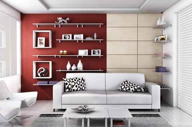 As prateleiras ECO são resistentes, ecologicamente corretas e versáteis na decoração de diversos ambientes - Reprodução/Internet/Prat-z.com.br