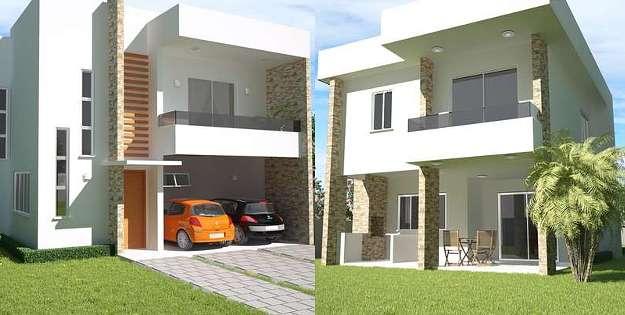 Plano de sobrado com três quartos e varanda gourmet à venda por R$ 519 - Loja de projetos/Divulgação
