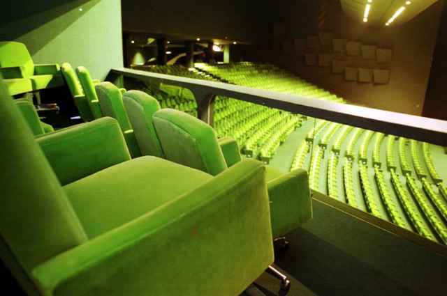 O espaço entre as poltronas da Sala Villa-Lobos vai aumentar - Sérgio Amaral/CB/D.A Press
