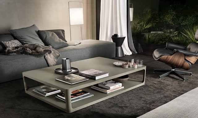Com estilo minimalista, as peças chamam a atenção por possuírem linhas básicas e junção arredondada - Divulgação/Rimadesio