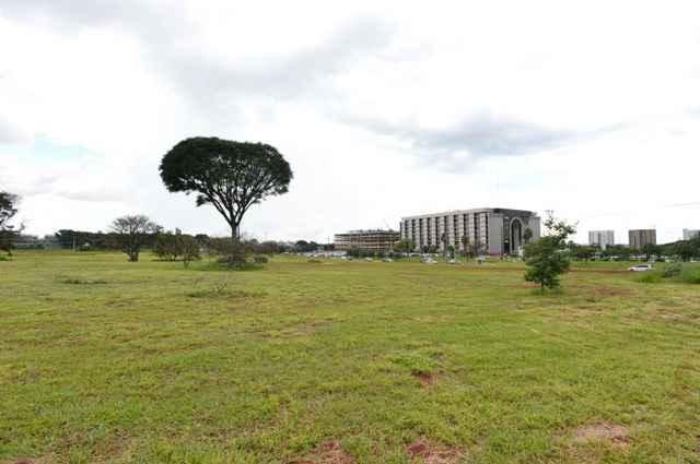 A proposta do PPCub permite, entre outros itens, a construção de prédios na 901 da Asa Norte - Gustavo Moreno/CB/D.A Press