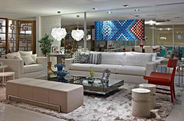 Salas de estar e TV, escritório, varandas e quartos são alguns dos ambientes que podem usar a peça na composição - Divulgação/Líder Interiores