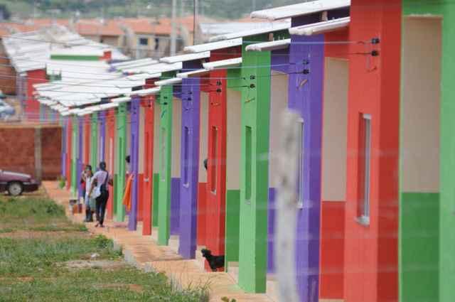Denúncias de casas tomadas por milicianos foram feitas por moradores de outros empreendimentos do programa, sobretudo, na zona oeste - Kléber Lima/CB/D.A Press