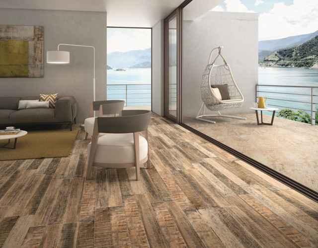 Agradáveis ao toque, os revestimentos da coleção agregam conforto e praticidade em ambientes residenciais, comerciais e corporativos - Divulgação/Tecnogres
