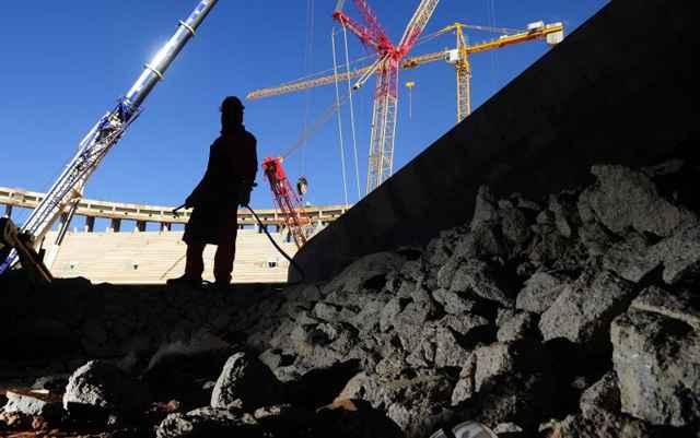 O CUB/m² inclui a avaliação de um grupo de materiais com 25 itens; mão de obra de servente e pedreiro e despesas administrativas - Daniel Ferreira/CB/D.A Press