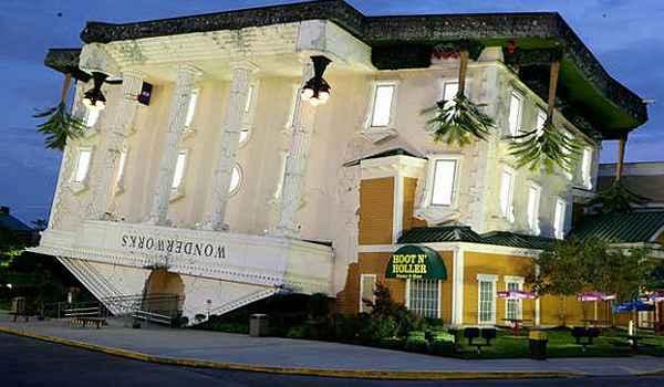 É um parque de diversões localizado em Orlando, EUA - Reprodução da internet