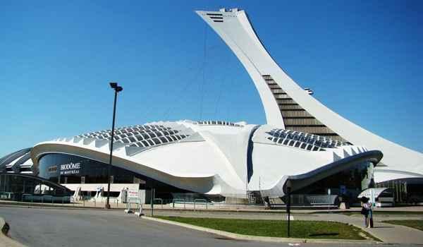 Construído para os jogos de 1976 da Olimpíada de verão em Montreal, Canadá, o estádio é conhecido pelos habitantes locais como 'The Big O' - Reprodução da internet