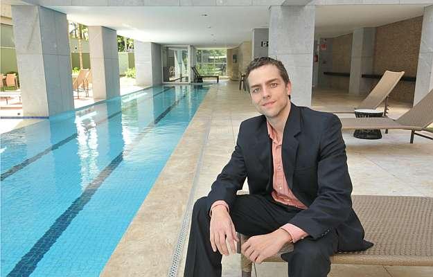 Thiago Xavier, gerente de Marketing da Conartes, diz que os projetos de alto padrão são definidos com todas as possibilidades - Marcos Michelin/EM/D.A Press