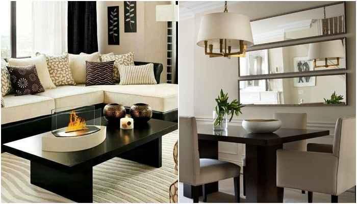Obedecer a distância mínima entre os móveis é o que permite a boa circulação nos cômodos - Reprodução/Pinterest