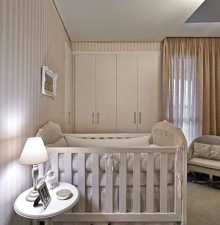 O quarto de bebê priorizou primeiro a funcionalidade e a circulação - Jomar Bragança/Divulgação