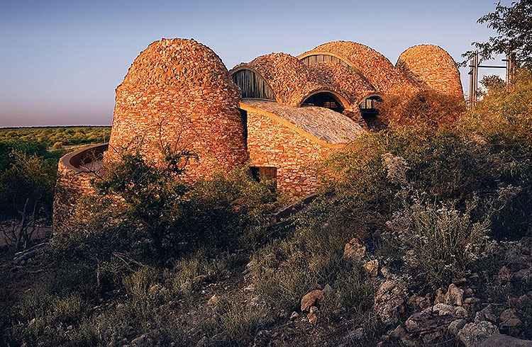 Centro de visitas em parque nacional na África do Sul - Verd Gris/Divulgação