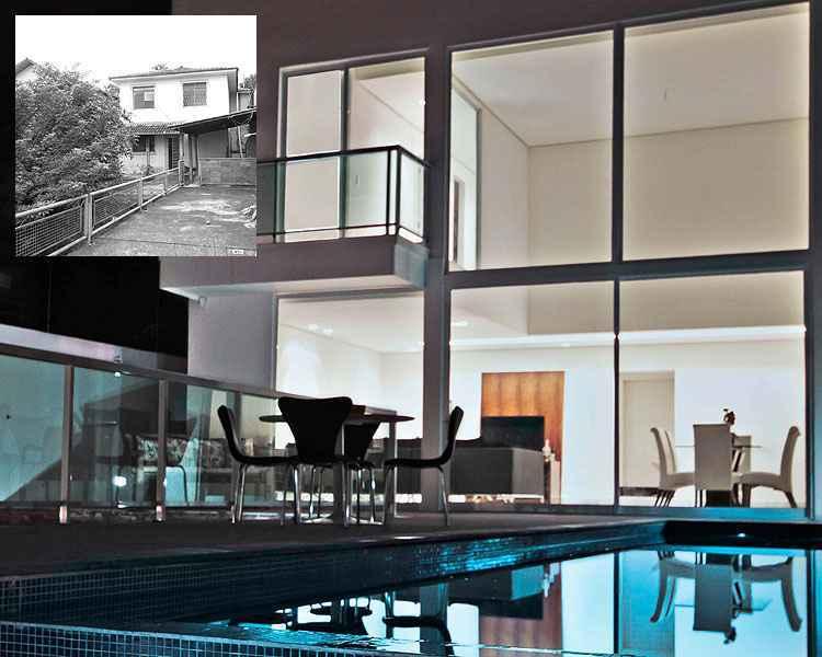 Arquiteta Lilian Fajardo reformulou uma casa antiga e deu ares de modernidade à residência - Adriane Xavier/Divulgação