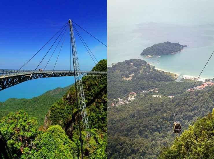 Langkawi Sky Bridge (Malásia) - Reprodução / Internet