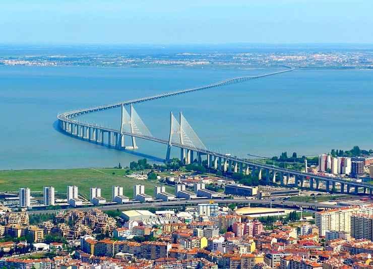 Ponte Vasco da Gama, em Lisboa (Portugal - Reprodução / Internet