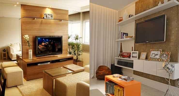 Sala De Tv Aconchegante ~ Confira as dicas para montar uma sala de TV aconchegante e estilosa