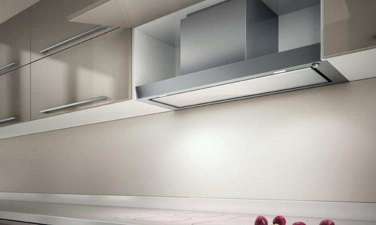 Modelo Filo permite guardar ingredientes culinários dentro do armário - Lofra/Divulgação