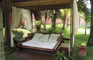 O bambu além de ser ecologicamente correto, deixa qualquer área mais charmosa