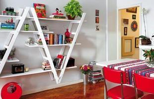 Escadas velhas podem virar artigos de decoração