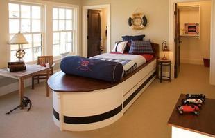 Colorido e descontraído, a decoração inspirada nas roupas dos marinheiros pode estar em qualquer ambiente da casa