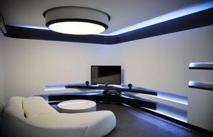 No meio de tanta modernidade, a decoração com estilo hytec ou futurista vem conquistando cada vez mais os amantes da tecnologia