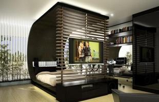 Os homens ligam sim para a decoração - eles querem espaços bem planejados, cores que combinem e uma decoração criativa.